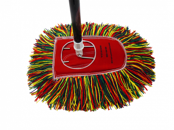 Champion Old Fashioned Dust Mop with handle 2nd angle.