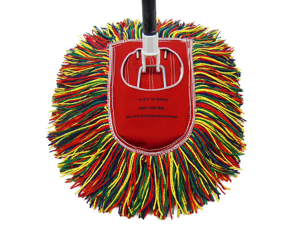 Champion Dust Mop Wedge Shape With Handle Low Prices