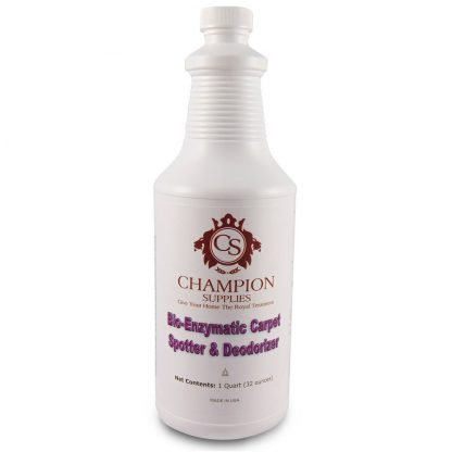Champion Enzymatic Cleaner & Carpet Spotter.