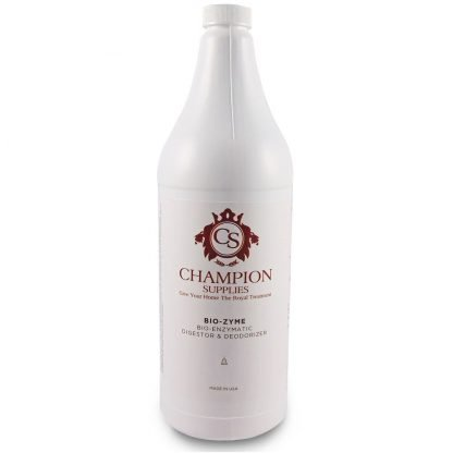 Champion Bio-Zyme Natural Drain Cleaner & Enzyme Odor Remover.