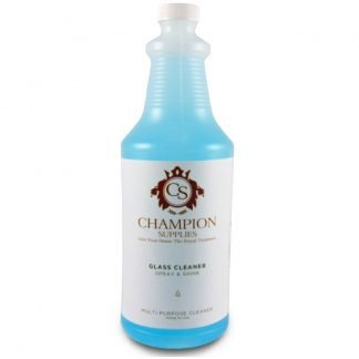 Glass Cleaner Spray & Shine.