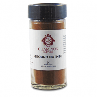Champion Ground Nutmeg.