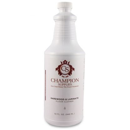 Champion Hardwood Laminate Floor Cleaner.