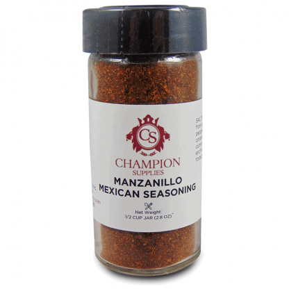 Champion Manzanillo Mexican Seasoning.