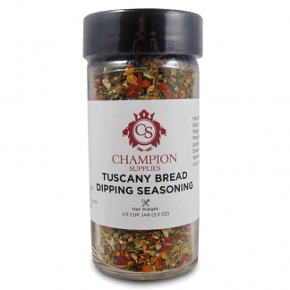 Champion Tuscany Bread Dipping Seasoning.
