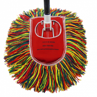 Champion Old Fashioned Dust Mop with handle.