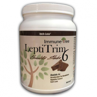 Immune Tree LeptiTrim6 Chocolate Meal Replacement Shake