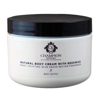 Champion Natural Body Cream with Beeswax Scented.