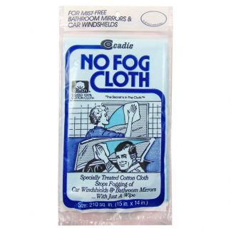 No Fog Cloth.