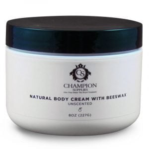 Champion Natural Body Cream with Beeswax.