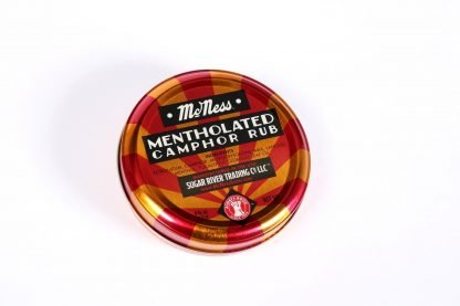 McNess Mentholated Ointment.