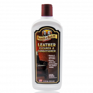Parker & Bailey Leather Cleaner & Conditioner.