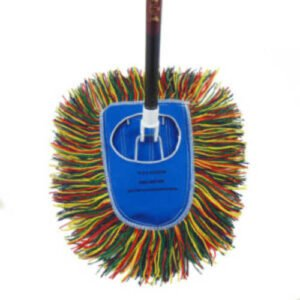 Old Fashioned Dust Mop with Handle