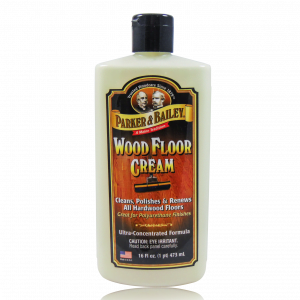 Parker and Bailey Wood Floor Cream