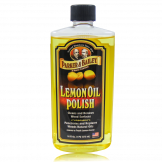 Parker & Bailey Lemon Oil Polish.