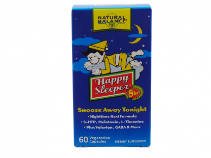 Natural Balance Happy Sleeper 8 Hour Nighttime Rest Formula