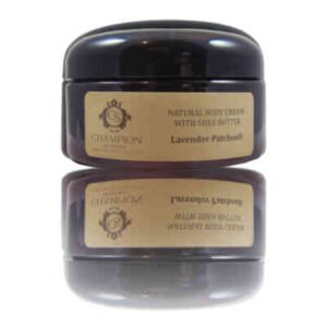 Champion Natural Body Cream with Organic Shea Butter