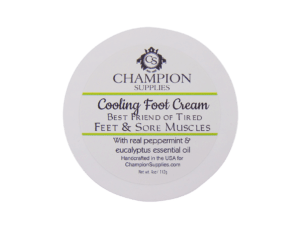 Champion Cooling Foot Cream.