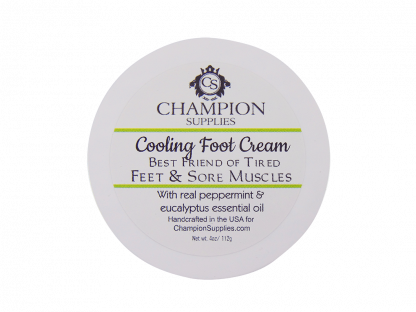 Champion Foot Cream.