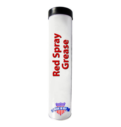 Red Spray Grease, Made in USA.