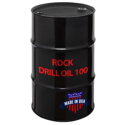 Rock Drill Oil 100, Made in USA.
