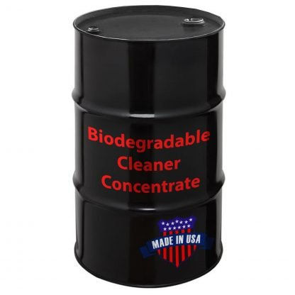 Biodegradable Cleaner Concentrate, Made in USA.