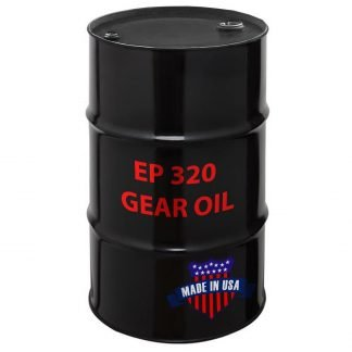 EP 320 Gear Oil, Made in USA.