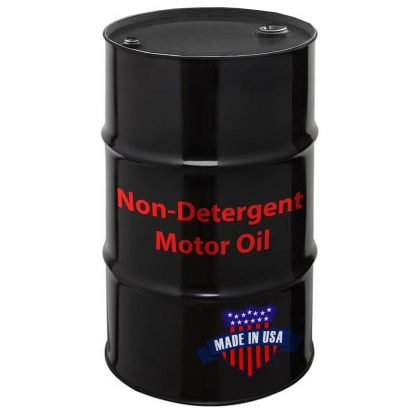 Non-Detergent Motor Oil, Made in USA.