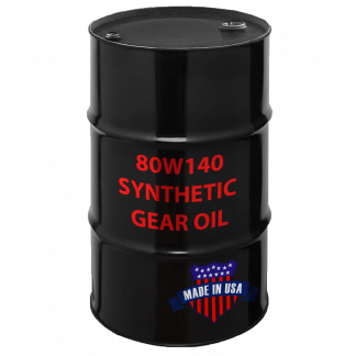 80W140 Synthetic Gear Oil, Made in USA.