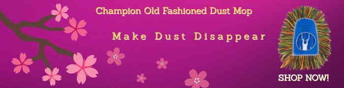 Old Fashioned Dust Mop Banner 5